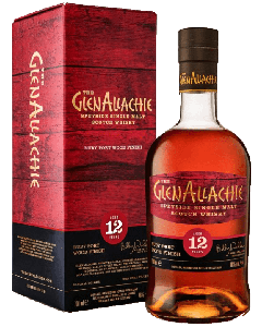 Glenallachie 12 Year Old Ruby Port Wood Finish Speyside Malt Whisky 48%