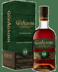 Glenallachie 14 Year Old Cask Strength Oloroso Wood Finish Speyside Malt Whisky 55.4%